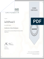 Introduction to Game Development - Michigan State University