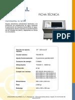EQUIPO ELECTRONICO ANTICALCAREO E 350
