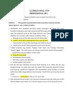 1-Soal Profesional Ipa-juli 2019