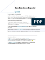 Manual Sandboxie en Español