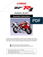 Yamaha R1 Paper Assembly-complete