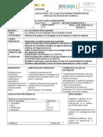 planeaciones quimica