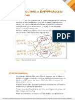 BGP Routing in DMVPN Access Network