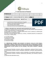 (Substitutiva) P1 - Metodologia Da Pesquisa