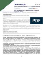 Alvarez Alvarez Carmen - Implicaciones Del Metodo Etnografico en Un Estudio Educacion en Valores