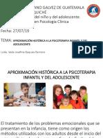 Aproximación Histórica a La Psicoterapia Infantil y Del