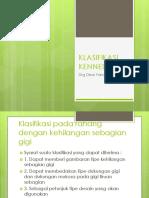 KLASIFIKASI KENNEDY.pptx