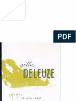 Essays Critical and Clinical - Gilles Deleuze