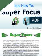 8 Steps How to Super Hyper Focus eBook