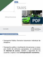 Taxis y Encuestas