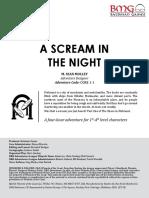 CORE 1-1 a Scream in the Night1-4