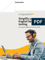 Linguaskill Simplify Your English Language Testing