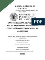 Sáez - Caracterización de Polvos de Piel de Mandarina Para Su Uso Como Ingrediente Funcional en a...