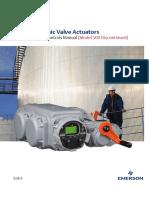 Manual Tec2 Electronic Valve Actuators Engineering Controls Manual Eim en 86520
