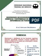 Desórdenes Neurodegeneragivos Alzheimer y Parkinson y Farma (Ruth)