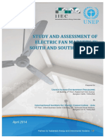 Study and Assessment of Electric Fan_UNEP Study