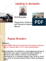 Lecture 10 Repeat Breeding in cattle and buffalo