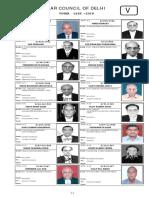 V_1 voter list lawyer bar association Delhi