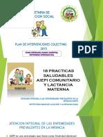 18 Practicas Saludables 2015