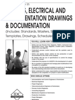 Process, Electrical & Instrumentation Drawings and Documentation