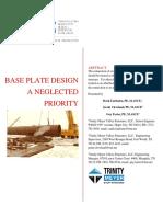 Base Plate Design