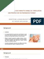 Anti Arthritic and Anti Paralytic