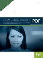 Deep Learning With Sas 109610
