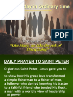 Sept. 8 2019 23rd Sunday in Ordinary Time C UPDATED