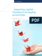 Deepening Capital Markets in Emerging Economies
