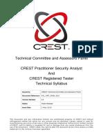 Crest Crt Cpsa Technical Syllabus 2.2