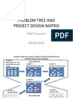 Problem Tree an Project Design Matrix