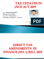 Direct Tax Updates