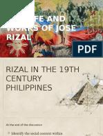 RIZAL in 19th Century