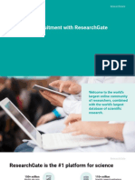 Scientific Recruitment With ResearchGate