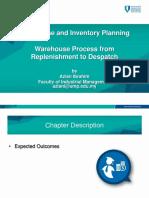 Warehouse Process-Replenishment to Despatch