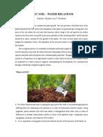 Basic Soil Water Relations
