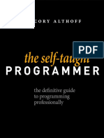 The Self-Taught Programmer by Cory Althoff