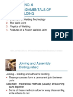 Unit 4 Fundamentals of Welding