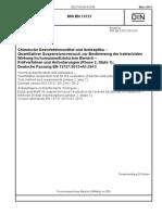 [DIN en 13727_2014-03] -- Chemische Desinfektionsmittel Und Antiseptika - Quantitativer Suspensionsversuch Zur Bestimmung Der Bakteriziden Wirkung Im Humanmedizinischen Bereich