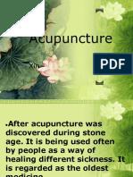 Accupuncture