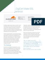 Cloudflare Digicert Make Ssl a 1 Click Experience