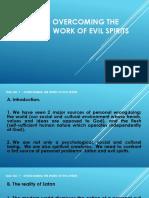 Talk No.7 Overcoming Evil Spirits Bb