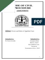 Code of Civil Procedure
