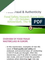 food fraud Europe