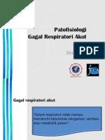 Patofisiologi Gagal Nafas Akut - JCCA Bali 2016