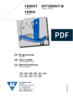 AC Hydraulic WT-1500