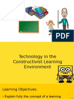 Technology in Constructivist Learning Environment