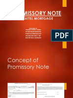 PROMISSORY NOTE CHATTEL MORTGAGE.pptx