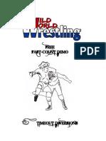 Wild World Wrestling RPG Preview