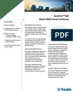 Acutime™360 Multi-GNSS Smart Antenna Data Sheet